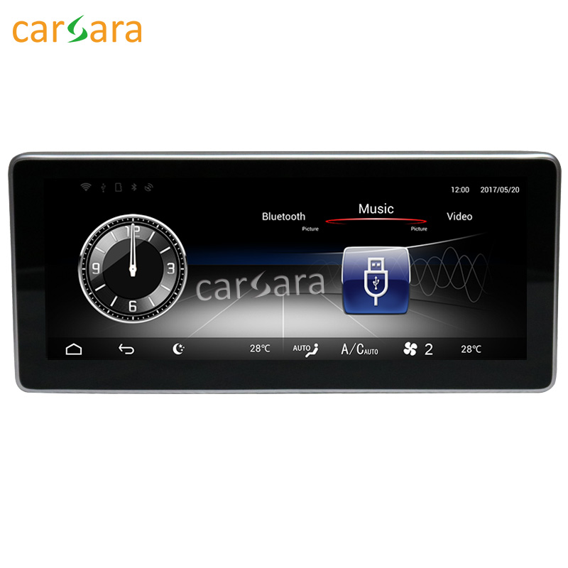 carsara Android display for Benz CLA/GLA/A Class W176 16-17 10.25 touch screen GPS Navigation radio stereo multimedia player