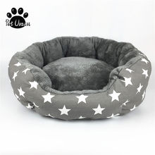 Dog Bed Cat Bed Soft Pet Pad Cushion Pet Mat Dog House Furniture Puppy Blanket Pet Bed Removable Pillow Small Medium Dogs(China)