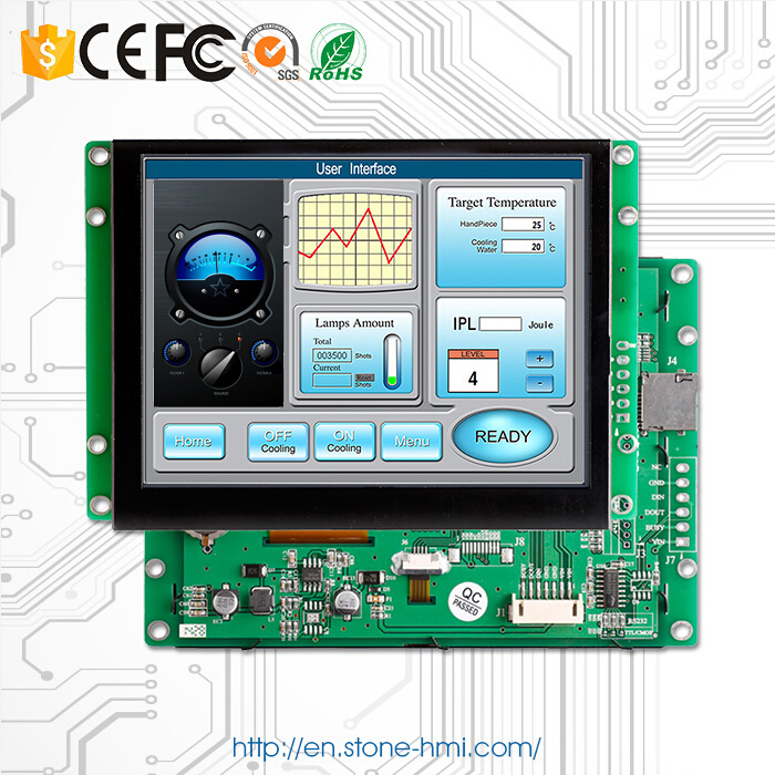 STONE  8.0 TFT Module RS232/RS485/TTL/USB Interface Control Panel For Iindustrial Control SolutionSTONE  8.0 TFT Module RS232/RS485/TTL/USB Interface Control Panel For Iindustrial Control Solution