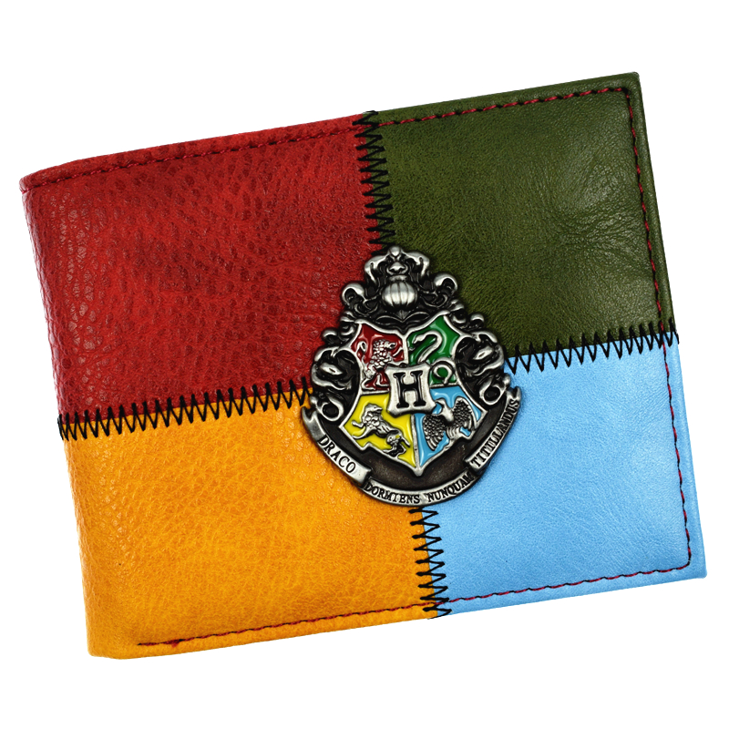 FVIP New Arrival Cute Harry Potter Wallet Short Purse With Sequined and Card Holder Men and Women WalletsFVIP New Arrival Cute Harry Potter Wallet Short Purse With Sequined and Card Holder Men and Women Wallets