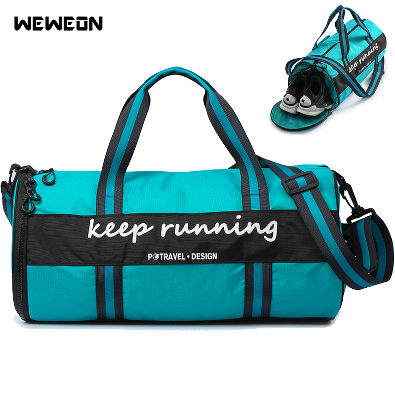 Us 27 14 54 Off Hot Professional Gym Bag For Fitness 2019 Sports Training Duffle High Quality Workout Yoga Handbag Luggage Travel Tote In