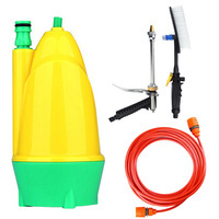 12V Car Wash Pump Submersible Washer Brush Portable Car Water 10m Automatic Water Absorption