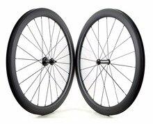 700C 50 мм Глубина дорожный колеса углерода 23 мм ширина довод/tubular велосипед углерода Колесная U-форма обода UD закончить дело