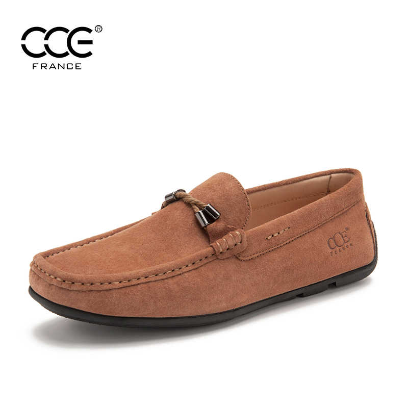 cfeab73d917f7 Free shipping>2016 CCE Fashion Top Quality Top suded leather men Loafers,Moccasins  shoes