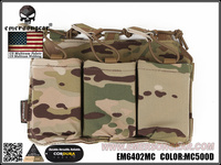 emersongear Emerson Triple Mag Pouch For SS Vest 556 762 Magazine Pouch Holder Tactical Airsoft Hunting Accessory Pouch