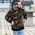 Mens Hoodies Streetwear de Manga Larga Militar Camuflaje Cs Go Pullover Hombres Bolsillo Delantero Kanye Sudaderas Y Sudaderas Casuales
