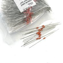Терморезистор NTC MF58 3950 B 5% 1K 2K 5K 10K 20K 50K 100K 200K 500K 1M 1/2/3/5/10/K, 30 шт. Датчик термистора Ohm R MF58B