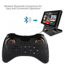 Joystick Game Handle Accessories Wireless Handle Game Controller Joystick Gamepad For Switch Pro Gamepad vanpower wireless game controller blueooth gamepad joystick game handle controller for ps4 playstation console