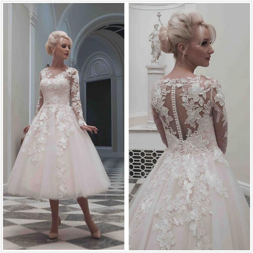 Vintage Inspired Short Wedding Dress – fashion dresses