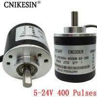 400 Pulses Incremental Optical Rotary Encoder AB Two Phase 5 24V 400 Pulses Incremental Optical Rotary