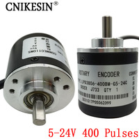 400 Pulses Incremental Optical Rotary Encoder AB Two Phase 5 24V 400 Pulses Incremental Optical Rotary