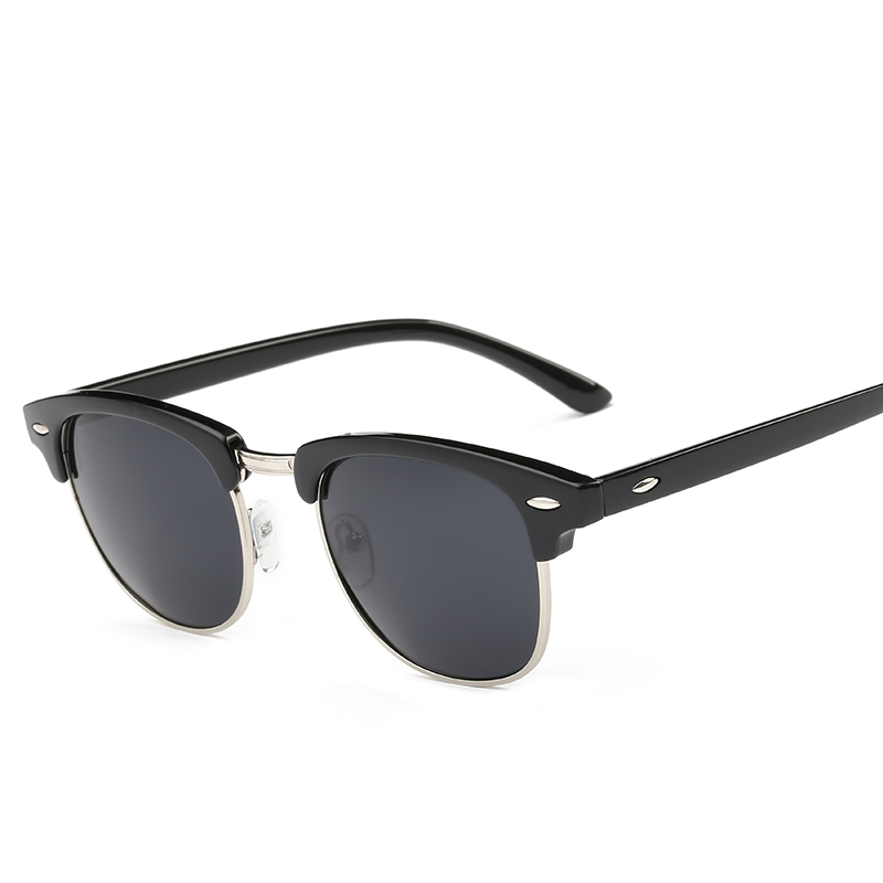 CLASSIC Half Metal Sunglasses տղամարդիկ Կանացի - Հագուստի պարագաներ - Լուսանկար 2