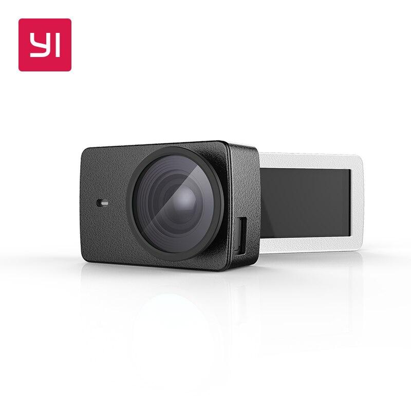 YI 4 Karat und 4 Karat Plus Action Kamera Schutzlinse und ledertasche Schwarz Weiß