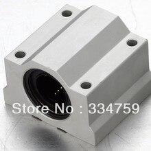 SC16UU SC20UU SC25UU SC30UU SC35UU скольжение линейным движением блок для линейного вала CNC части 3d принтер части линейный блок корпуса