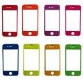 Новый multi-цветы передняя внешний экран стекло крышка объектива для iPhone 4 4S запасные части с бесплатные инструменты