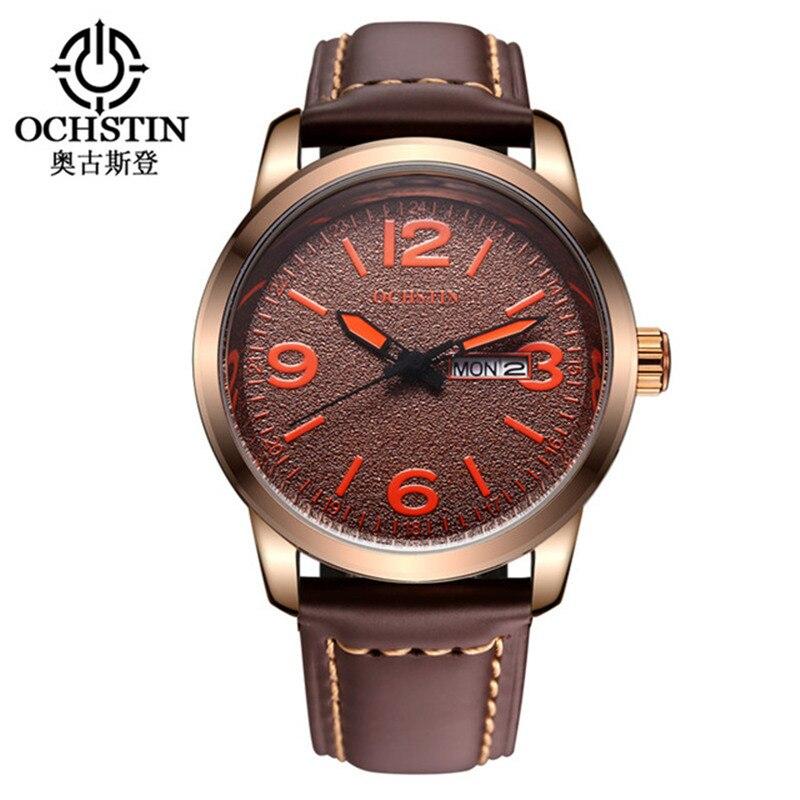 Relogio Masculino Ochstin Quartz Watch Men Casual Clock Date Day Male Wrist Business Relojes Hombre Military Wristwatches Man