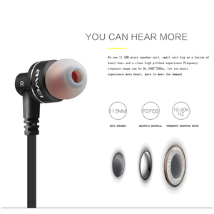 Image 2 - ES 10TY Earbuds Wired Earphone Stereo Headset In Ear Noise Reduction Auriculares Headphone With Microphone For Phone Kulakl k
