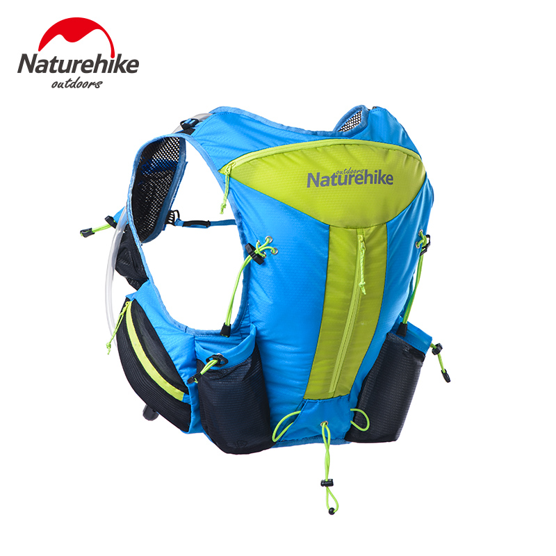 Naturehike NH70B067-B 12L Hydration Backpack Pack Rucksack Bag Water Bladder Hiking Running Marathon Race Cycling TrailRunner