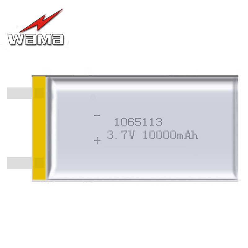 2x 1065113 Real Capacity 10000mAh Li-ion 3.7V Rechargeable Battery Lithium Polymer Mobile Backup Power Digital Products Tablet