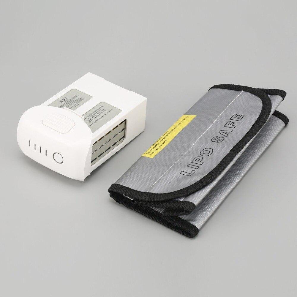 15.2V 5870mAh Intelligent Spare Flight LiPo Battery Replacement with Safe Bag for DJI Phantom 4/ Advanced/4 Pro FPV RC Drone толстовка gap gap ga020emtlx49