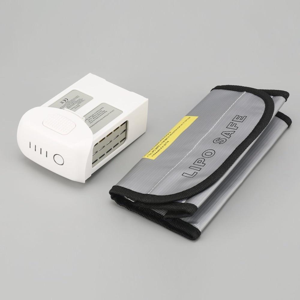 Remplacement Intelligent de batterie de LiPo de vol de rechange de 15.2 V 5870 mAh avec le sac sûr pour le Drone de DJI Phantom 4/avancé/4 Pro FPV RC