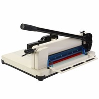 Extra long cutting handle bar 12 BLADE A4 PAPER CUTTER HEAVY DUTY MANUAL GUILLOTINE