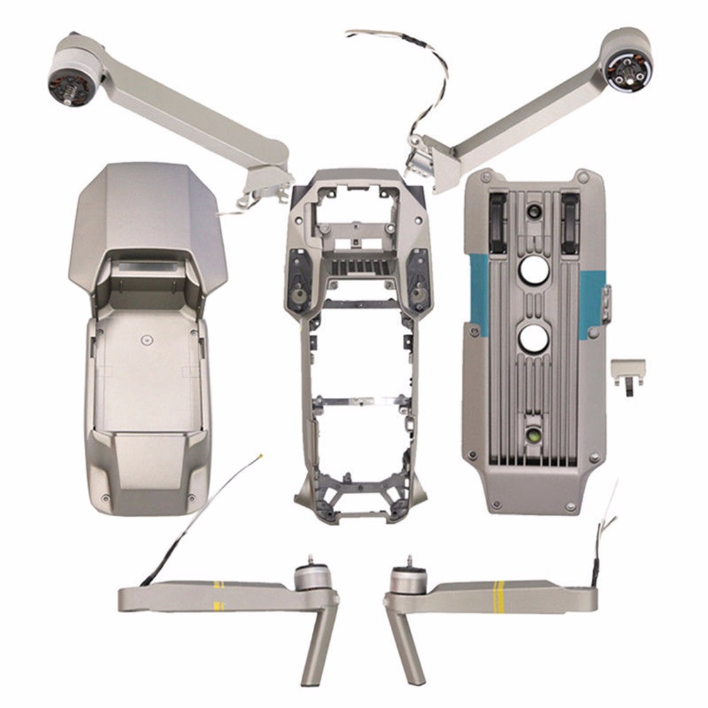 MASiKEN Repair Parts Right Left Rear Arm Housing Shell Middle Frame for DJI Mavic Pro Platinum Drone Accessories Original New