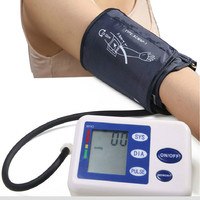 Fully Automatic Arm Blood Pressure Monitor Household Medical Health Test Blood Pressure Cuff with Pulse Measurement