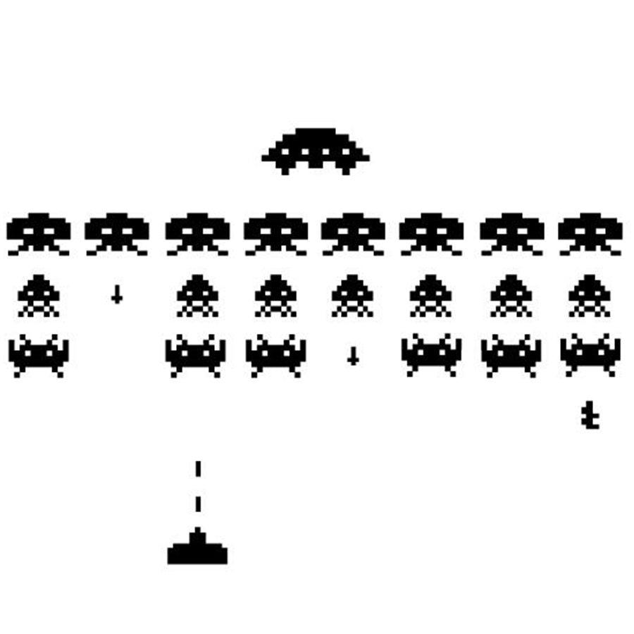 Dibujos Animados Pacman Juego Pared Pegatina De Vinilo Niños Habitación Guardería Juego Xbox espacio Invader
