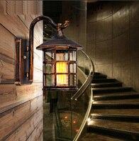 Высокого класса в европейском стиле сад открытый бра водонепроницаемый бра старинные настенный светильник содержит лампы Бесплатная дост