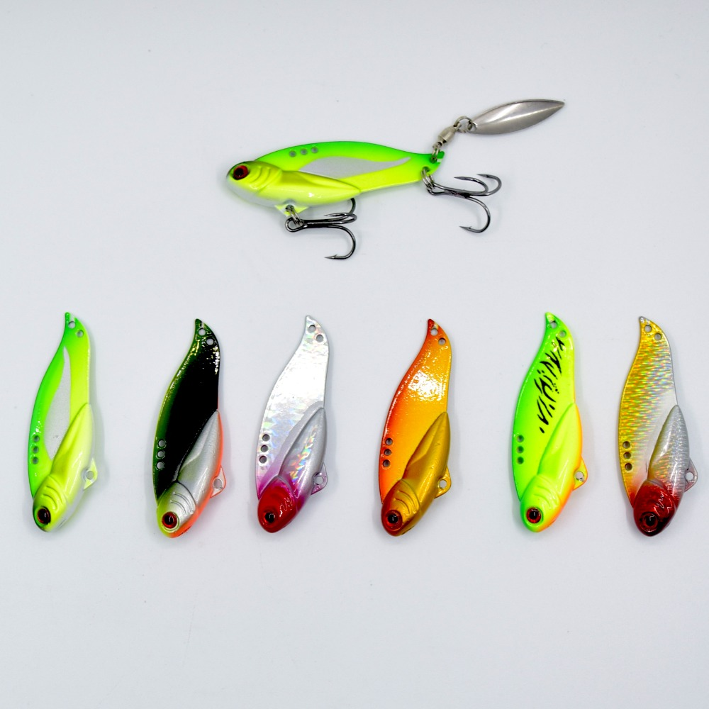 ANKI Japan long cast VIBRATION 5.5cm 18.5g  minnow crank Wobblers Fishing lure Bait sharp HOOK with additional hole for spoon