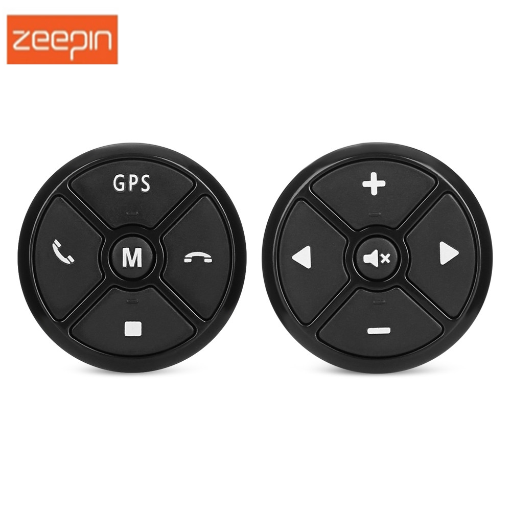 ZEEPIN Original T 3 Car Steering Wheel Remote Controller For DVD Navigation 12V GPS Car DVD Remote Controls Button