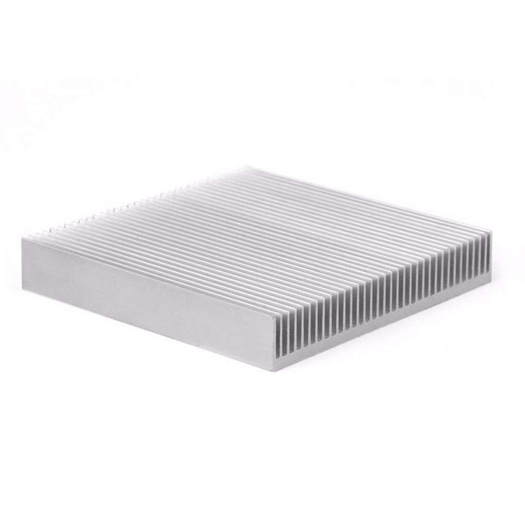 Aluminum Heat Sink Radiator Good Heat Dissipation Heatsink 90*90*15MM for Power IC LED Electronic PC Chipset LED Light Devices synthetic graphite cooling film paste 300mm 300mm 0 025mm high thermal conductivity heat sink flat cpu phone led memory router