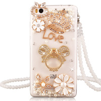 Xiaomi Redmi 4A Case Luxury Rhinestone Stand Holder Cover For Xiaomi Redmi 4a Silicone Soft Case