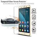9H Tempered Glass for Huawei P9 P9lite P8 Lite Honor 5C 6 6 PLUS 7 7i 8 V8 X2 Screen Protector Protective Glass honor8 Film