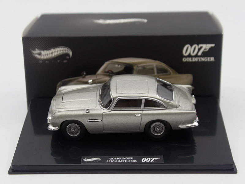 Hotwheels 1:43 Aston Martin DB5 Goldfinger 007 JAMES BOND BLY26 Diecast Car Toys Models Limited Edition Collection james martin