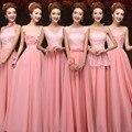 Cheap 6 style long Lace chiffon Bridesmaid Dresses Sky blue purple Pink wedding dress, Prom Dress party dress women  Vestidos