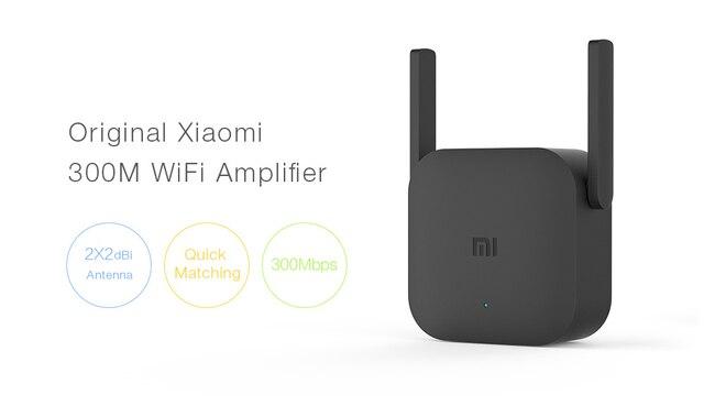 Xiao mi Wifi amplificateur Pro routeur 300M 2.4G répéteur réseau extenseur gamme Extender Roteader mi routeur sans fil Wi-fi 2