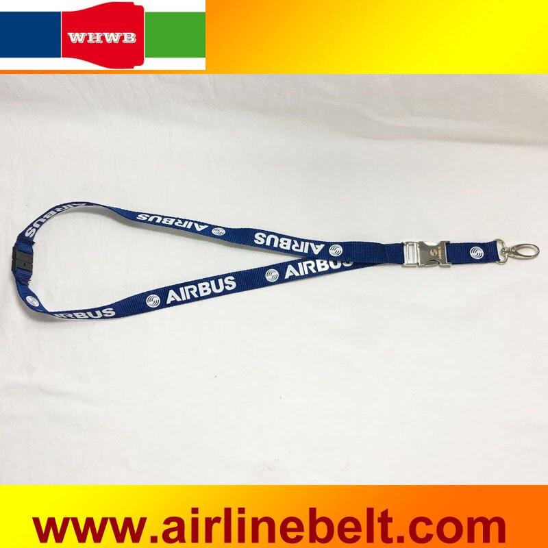 Lanyard 1.Airline CAAC Metal wide version Lanyard
