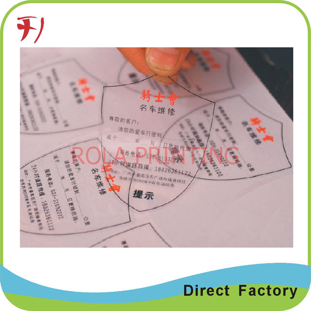 customized direct manufacturer high quality custom roll labels make