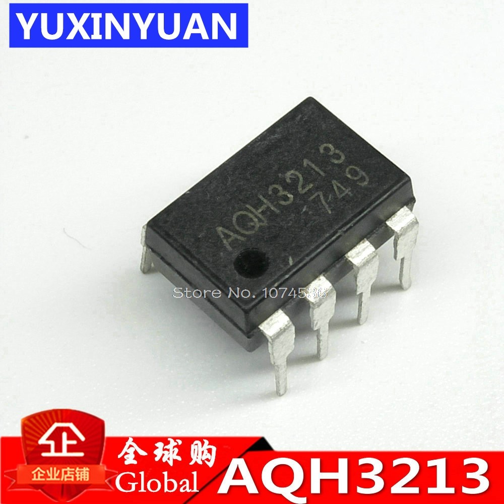 10pcs Aqh2223 Dip 7 2223 Dip7 Solid State Relay Ic Chip Manifold Germany Aqh3213 3213 Into The Lcd Supply Aq H