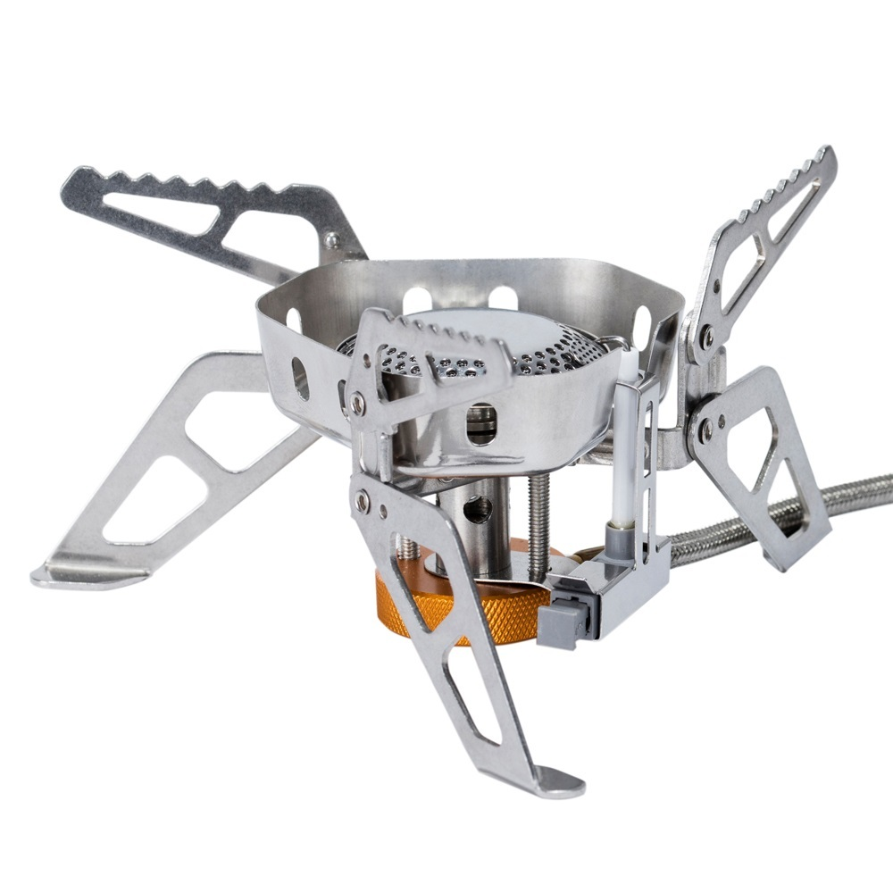 Fire Maple Wildfire Outdoor Hiking Camping Windproof Gas Burner Stove with Ignition Device Equipment 2600W Lightweight FMS-WF
