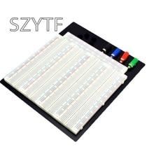 3220 Hole Point Solderless Breadboard Welding Free Circuit Test Board ZY 208  MB 102 Breadboard