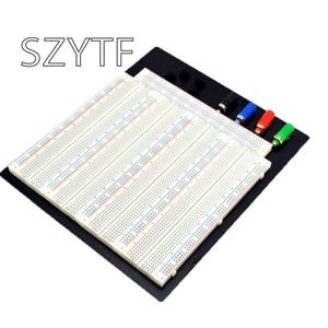 Image 1 - 3220 Hole Point Solderless Breadboard Welding Free Circuit Test Board ZY 208  MB 102 Breadboard