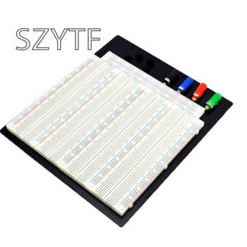 3220 Hole Point Solderless Breadboard Welding Free Circuit Test Board ZY-208 MB-102 Breadboard - DISCOUNT ITEM  5% OFF Electronic Components & Supplies