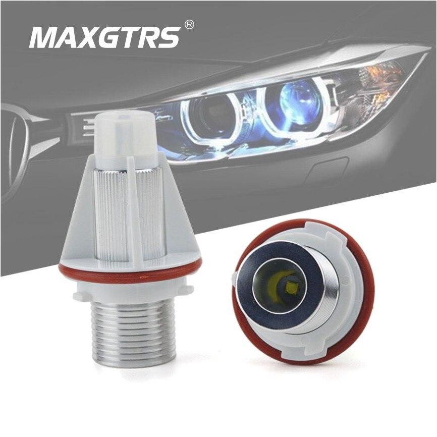 2x Alpina B10 E39 Ultra Bright White 24-LED Reverse Light Lamp High Power Bulbs