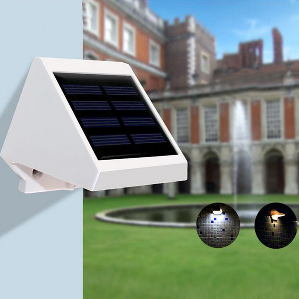 Waterproof Home Garden Solar Light Luminaria Solar Energy Luz Security Wall Lamp Led Solar Panel Light Outdoor Garden Decoration цены