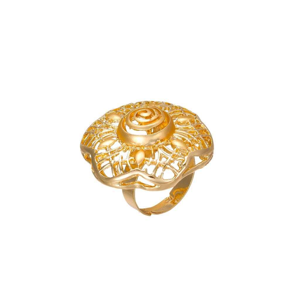 MUKUN 2017 ostatnie Big Dubai złoty kolor biżuteria ustawia moda ślub nigeryjski strój afrykański z koralikami naszyjnik bransoletka kolczyk pierścień