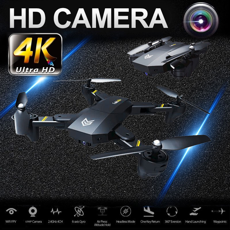 Drone RC Quadcopter Mini with WIFI Camera Remote Control Foldable Aircraft Portable S25 Auto Hovering FPV Drone 4 Axis Flipping rc quadcopter drone with camera hd 0 3mp 2mp wifi fpv camera drone remote control helicopter ufo aerial aircraft s6