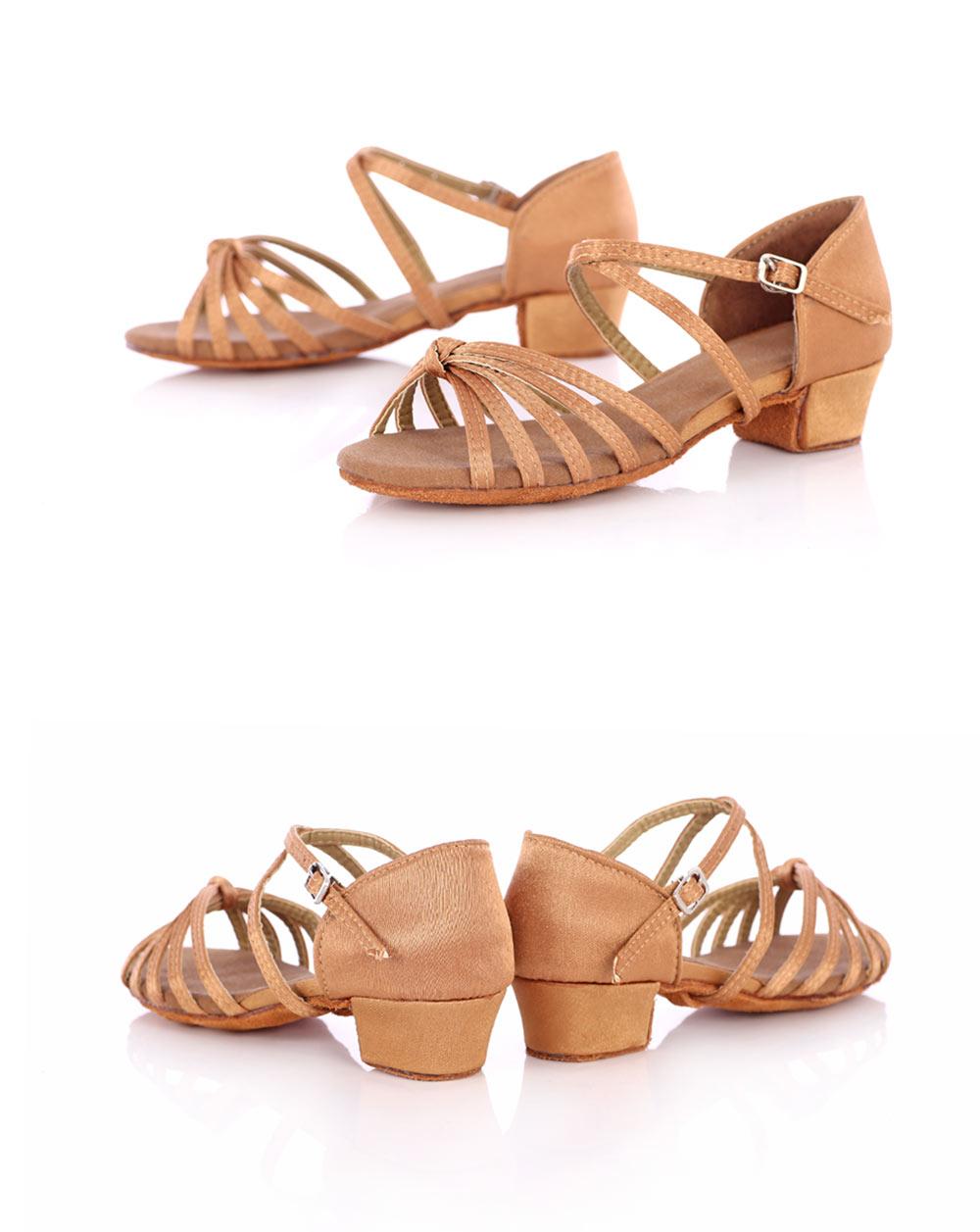 New Arrival Ballroom Tango Latin Dance Shoes High Quality Latin Woman Dancing Shoe Wholesale Women'S Heel Shoes Fast Shipping (12)